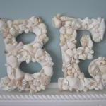 Beach Decor Seashell Letters - Naut..